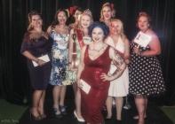 Contestants with Ivana